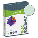 UNIVERSAL PRODUCTS UNV11203 Colored Paper, 20lb, 8-1/2 X 11, Green, 500 Sheets/ream