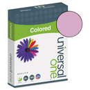 UNIVERSAL PRODUCTS UNV11212 Colored Paper, 20lb, 8-1/2 X 11, Orchid, 500 Sheets/ream