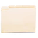 UNIVERSAL PRODUCTS UNV12115 File Folders, 1/5 Cut Assorted, One-Ply Top Tab, Letter, Manila, 100/box