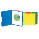 Universal UNV13521 Manila Folders, 2 Fasteners, 1/3 Tab, Letter, Blue, 50/bx