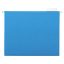 UNIVERSAL PRODUCTS UNV14116 Hanging File Folders, 1/5 Tab, 11 Point Stock, Letter, Blue, 25/box