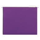 UNIVERSAL PRODUCTS UNV14120 Hanging File Folders, 1/5 Tab, 11 Point Stock, Letter, Violet, 25/box