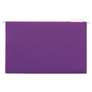 UNIVERSAL PRODUCTS UNV14220 Hanging File Folders, 1/5 Tab, 11 Point Stock, Legal, Violet, 25/box
