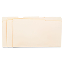 UNIVERSAL PRODUCTS UNV15113 File Folders, 1/3 Cut Assorted, One-Ply Top Tab, Legal, Manila, 100/box