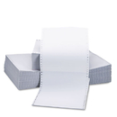 UNIVERSAL PRODUCTS UNV15703 Two-Part Carbonless Paper, 15lb, 9-1/2 X 11, Perforated, White, 1650 Sheets