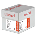 UNIVERSAL PRODUCTS UNV15782 Green Bar Computer Paper, 20lb, 14-7/8 X 8-1/2, Perforated Margins, 2600 Sheets