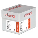 UNIVERSAL PRODUCTS UNV15850 Green Bar Computer Paper, 15lb, 14-7/8 X 11, Perforated Margins, 3000 Sheets