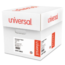UNIVERSAL PRODUCTS UNV15852 Green Bar Computer Paper, 20lb, 14-7/8 X 11, Perforated Margins, 2400 Sheets