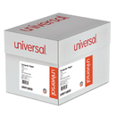 UNIVERSAL PRODUCTS UNV15865 Computer Paper, 20lb, 14-7/8 X 11, White, 2400 Sheets