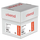 UNIVERSAL PRODUCTS UNV15872 Multicolor Computer Paper, 2-Part Carbonless, 15lb, 9-1/2 X 11, 1800 Sheets