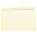 UNIVERSAL PRODUCTS UNV16122 File Folders, 1/2 Cut, Two-Ply Top Tab, Legal, Manila, 100/box