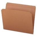 UNIVERSAL PRODUCTS UNV16130 Kraft File Folders, Straight Cut, Top Tab, Letter, Kraft, 100/box