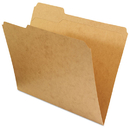 UNIVERSAL PRODUCTS UNV16133 Kraft File Folders, 1/3 Cut Assorted, Top Tab, Letter, Kraft, 100/box