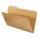 UNIVERSAL PRODUCTS UNV16143 Kraft File Folders, 1/3 Cut Assorted, Top Tab, Legal, Kraft, 100/box
