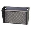 Universal UNV20026 Metal Mesh Wall FileSingle Pocket, 14 1/8 x 3 3/8 x 8 1/8, Letter, Black