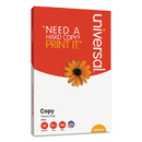 UNIVERSAL PRODUCTS UNV28110 Copy Paper, 92 Brightness, 20lb, 11 X 17, White, 2500 Sheets/carton