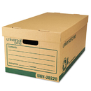 UNIVERSAL OFFICE PRODUCTS UNV28220 Recycled Record Storage Box, Letter/legal, 12