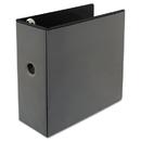 Universal UNV30755 Comfort Grip Deluxe Plus D-Ring View Binder, 5