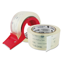 UNIVERSAL PRODUCTS UNV31102 Heavy-Duty Acrylic Box Sealing Tape W/disp, 48mm X 50m, 3