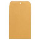 Universal UNV35261 Kraft Clasp Envelope, Center Seam, 28lb, 6 1/2 X 9 1/2, Brown Kraft, 100/box