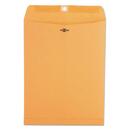 Universal UNV35265 Kraft Clasp Envelope, Center Seam, 28lb, 9 1/2 X 12 1/2, Brown Kraft, 100/box