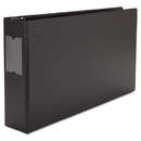 Universal UNV35423 Legal-Size Round Ring Binder With Label Holder, 3