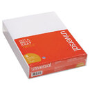 UNIVERSAL PRODUCTS UNV35618 Scratch Pads, Unruled, 8-1/2 X 11, White, 6 100-Sheet Pads/pack