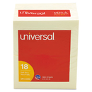 UNIVERSAL PRODUCTS UNV35692 Standard Self-Stick Notes, 3 X 5, Yellow, 100-Sheet, 18/pack