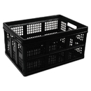 UNIVERSAL PRODUCTS UNV40015 Filing/storage Tote Storage Box, Plastic, 20-1/8 X 14-5/8 X 10-3/4, Black