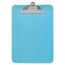 Universal UNV40307 Plastic Clipboard With High Capacity Clip, 1