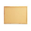 Universal UNV43602 Cork Board With Oak Style Frame, 24 X 18, Natural, Oak-Finished Frame