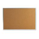 Universal UNV43613 Bulletin Board, Natural Cork, 36 X 24, Satin-Finished Aluminum Frame