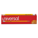 UNIVERSAL PRODUCTS UNV55400 Economy Woodcase Pencil, Hb #2, Yellow, Dozen
