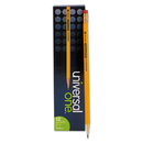 UNIVERSAL PRODUCTS UNV55525 Blackstonian Pencil, F #2.5, Medium Firm, Yellow, Dozen