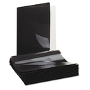 UNIVERSAL OFFICE PRODUCTS UNV56116 Paper Report Cover, Tang Clip, Letter, 1/2