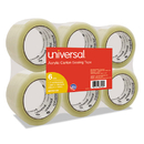 UNIVERSAL PRODUCTS UNV63120 General-Purpose Acrylic Box Sealing Tape, 48mm X 100m, 3