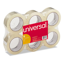 UNIVERSAL OFFICE PRODUCTS UNV63500 General-Purpose Box Sealing Tape, 48mm X 100m, 3