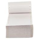 Universal UNV70103 Dot Matrix Printer Labels, 1 Across, 3-1/2 X 7/16, White, 5000/box