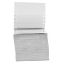Universal UNV70104 Dot Matrix Printer Labels, 1 Across, 15/16 X 3-1/2, White, 5000/box