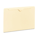Universal UNV73400 Manila File Jackets With Reinforced Tabs, Flat, Legal, 100/box