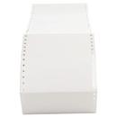 Universal UNV75114 Dot Matrix Printer Labels, 1 Across, 2-15/16 X 5, White, 3000/box