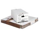 UNIVERSAL PRODUCTS UNV75130 Economy Storage Box W/tie Closure, Legal, Fiberboard, White, 12/carton