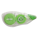 UNIVERSAL PRODUCTS UNV75602 Correction Tape With Two-Way Dispenser, Non-Refillable, 1/5