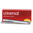 UNIVERSAL PRODUCTS UNV79000 Standard Chisel Point 210 Strip Count Staples, 5,000/box