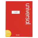 UNIVERSAL PRODUCTS UNV80120 Laser Printer Permanent Labels, 1 X 2 5/8, White, 7500/box