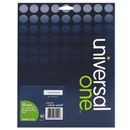 UNIVERSAL PRODUCTS UNV81101 Laser Printer Permanent Labels, 1/2 X 1-3/4, Clear, 2000/box