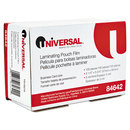 UNIVERSAL PRODUCTS UNV84642 Clear Laminating Pouches, 5 Mil, 2 1/4 X 3 3/4, Business Card Size, 100/box