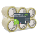 Universal UNV96000 Heavy-Duty Box Sealing Tape, 48mm X 50m, 3