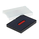 U. S. STAMP & SIGN USSP4727BR Trodat T4727 Dater Replacement Pad, 1 5/8 X 2 1/2, Blue/red