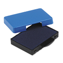 U. S. STAMP & SIGN USSP5430BL Trodat T5430 Stamp Replacement Ink Pad, 1 X 1 5/8, Blue